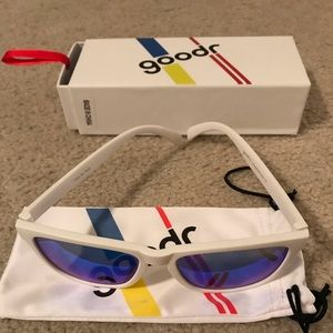 White Goodr Sunglasses